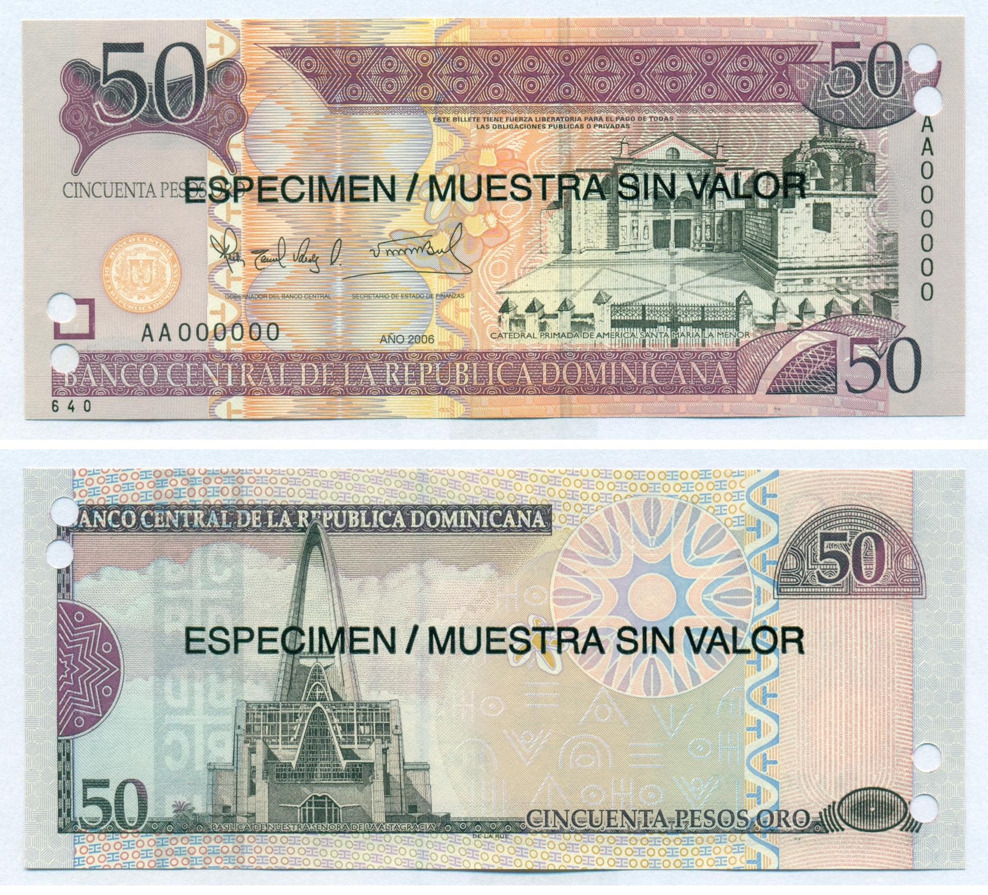 P-181c 2010 2000 Pesos Oro UNC Dominican Republic